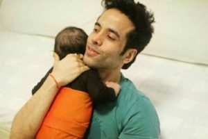 Laksshya doesn't have too much separation anxiety: Tusshar