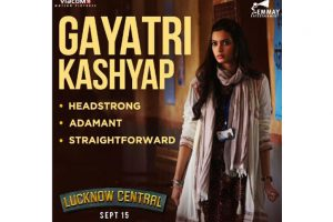 Farhan Akhtar introduces us to his 'Lucknow Central' co star, Diana Penty aka Gayatri Kashyap!
