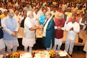 Shah has brought back Jan Sangh work culture: Modi