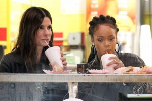 Rihanna, Sandra Bullock bonded over hot dogs