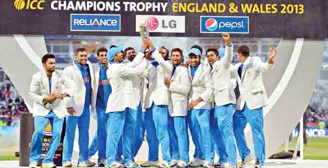 India clinch Champions Trophy