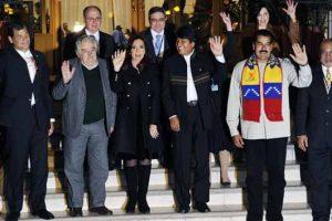 S American leaders back Morales