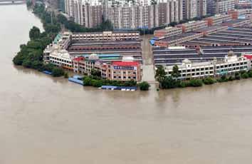 30 dead in china rains & landslides