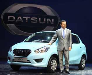 Nissan re-launches Datsun