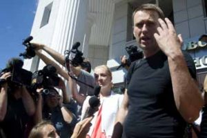 Russian Opp leader Navalnyreleased