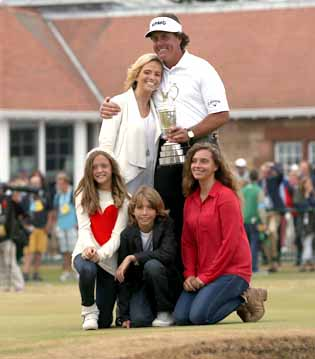 mickelson clinches it