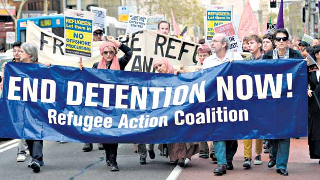 Australia resolute on asylum-seeker policy