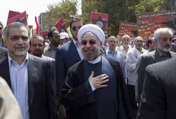 Iran's Rouhani sparks row