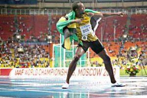 Bolt regains 100 m crown