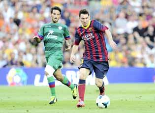 Barcelona off to blazing start