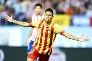 Neymar rescues Barca