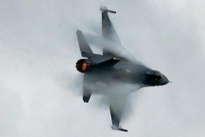 Beijing officials 'warned' US bomber during flyover