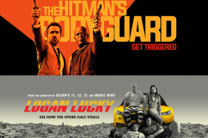 'The Hitman's Bodyguard' hits the bullseye, no luck for 'Logan Lucky'!