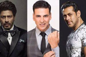 SRK ahead of Salman, Akshay in world's highest paid actors list