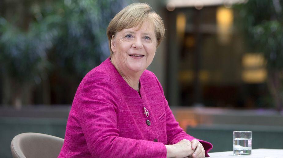 German Chancellor, Angela Merkel, French President, Emmanuel Macron, European Union, US trade