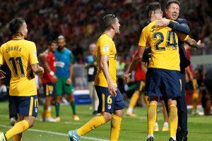 La Liga: Atletico Madrid defy Antoine Griezmann red card to salvage Girona draw