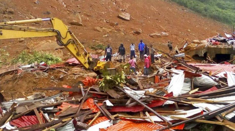 landslide, Indonesia, Java island, Five killed