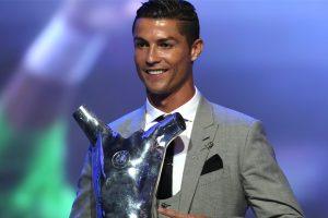 Cristiano Ronaldo named UEFA Player of the Season for 2016-2017