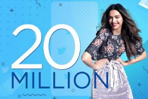 Deepika Padukone clocks 20 million followers on Twitter!