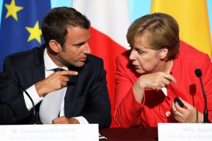 Merkel, Macron urge Russia and Ukraine to back ceasefire