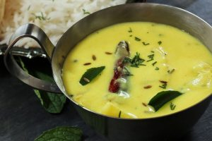 On the platter: Indian Gatte Ki Kadhi