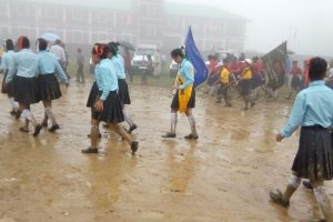 Patriotism wins over difficult conditions in Manipur
