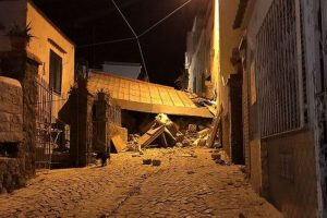 Italy quake rocks resort island of Ischia, at least 1 dead