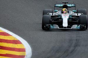 Belgian GP: Lewis Hamilton fastest in FP2