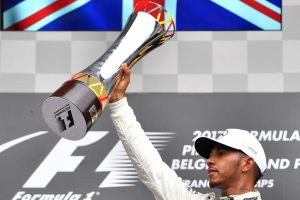 Belgian GP: Lewis Hamilton marks 200th race with Spa success