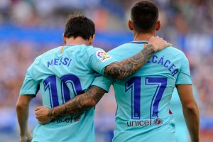 Lionel Messi makes amends for penalty miss in Barcelona win