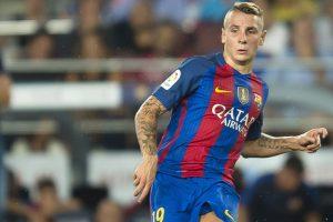 Barcelona defender Lucas Digne unlikely Las Ramblas hero