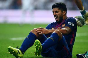 Luis Suarez to miss Uruguay friendlies due to knee injury