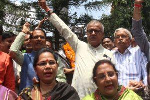 MP civic polls: BJP wins 25 seats, Congress 15