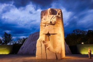 Statue of Martin Luther King Jr unveiled in his hometown