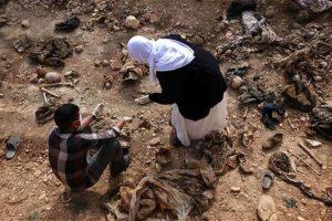 500 bodies found in Iraq mass graves