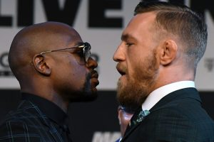 Hype meets reality as Floyd Mayweather, Conor McGregor face off