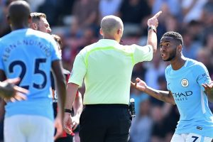 Premier League: Raheem Sterling scores winner for Manchester City, gets sent off