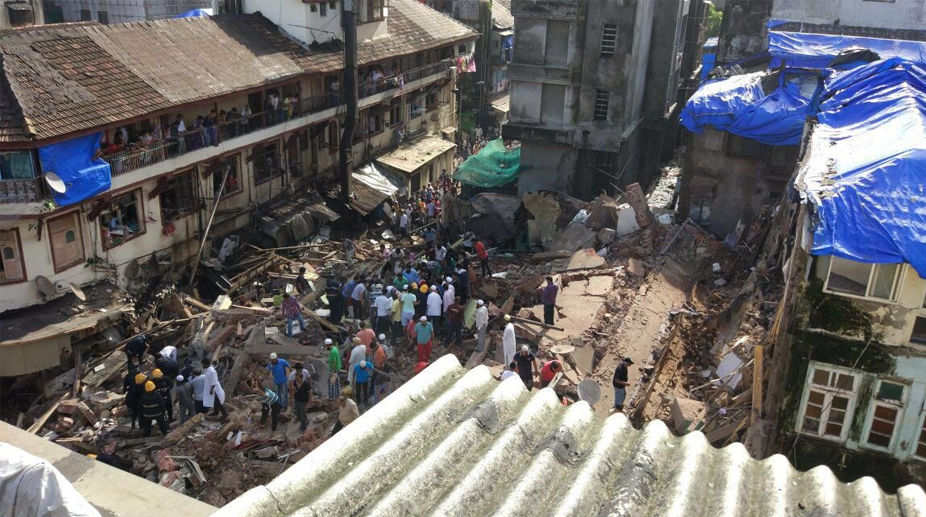 building collapse, Thane building, Teenage girl, girl killed