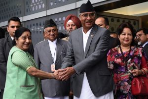 Nepal PM Deuba accorded ceremonial welcome