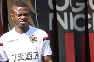 Nice midfielder Seri coy over Barcelona talk