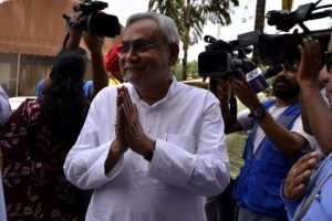 Nitish Kumar caught between a rock, hard place