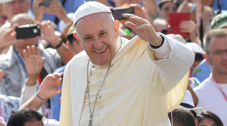 nuclear disarmament, climate-change solutions, Pope Francis,