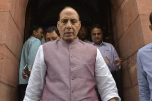 Centre working for permanent solution in Kashmir: Rajnath