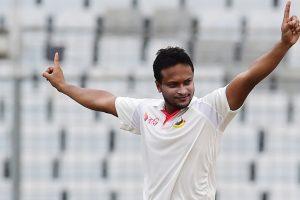 Shakib Al Hasan's five-for puts Bangladesh on top