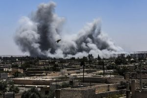 40 civilians killed in US-led airstrikes in Syria