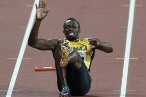 Never stop trying, Usain Bolt tells younger generation