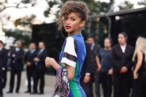 Zendaya encourages people to speak out against injustice