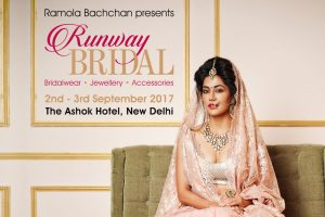 Runway Bridal 2017 to dazzle capital on September 2-3