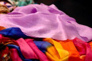 A burst of fabrics!