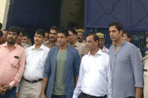 Lucknow Central cast welcomed at Adarsh Jail in Lucknow!
